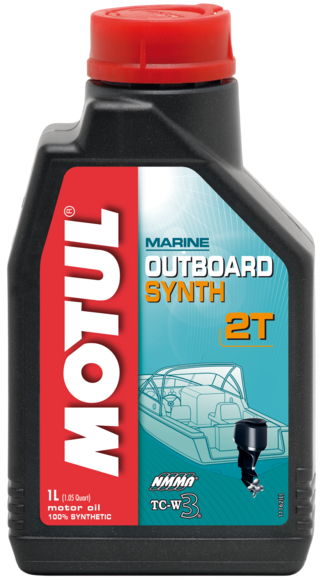 Масло моторное MOTUL (Мотюль) MOTUL OUTBOARD SYNTH 2T (1л)